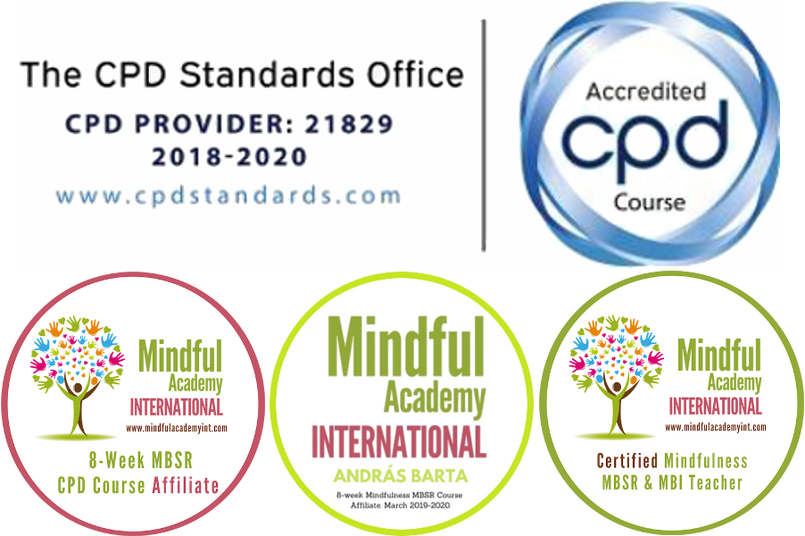 8 week mindfulness MBSR CPD Course Affiliate